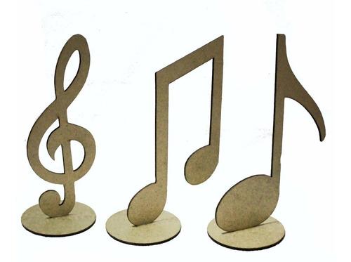 100 notas musicais mdf centro de mesa lembrancinha festas