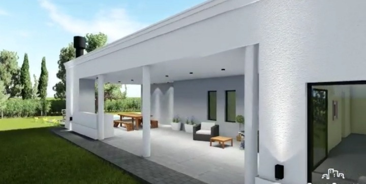 100% nueva, se entrega fin de junio. casa 5 ambientes.