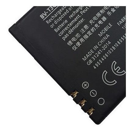 100% nuevos oem batería bv-t3g bv t3g de nokia microsoft lum