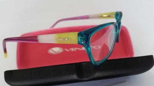 100% original montuta lentes veneto modelo 2016 ( niña )