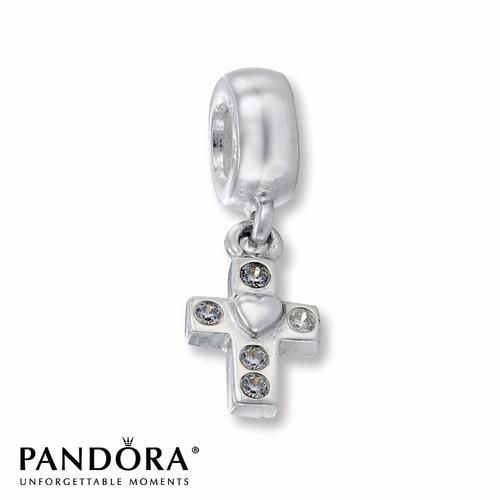 100  Original Pandora Charm P  Pulsera Faith