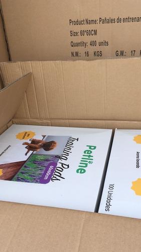100 pañales sabanillas grandes mascotas 60x60 envio gratis