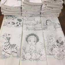 100 Pano Riscado Para Pintar Pintura Pano Prato Branco R 185 40