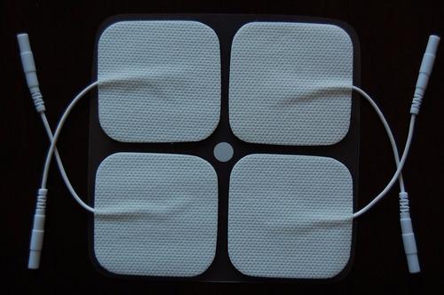 100 parches electrodos paratens ems electroestimulador 5x5cm