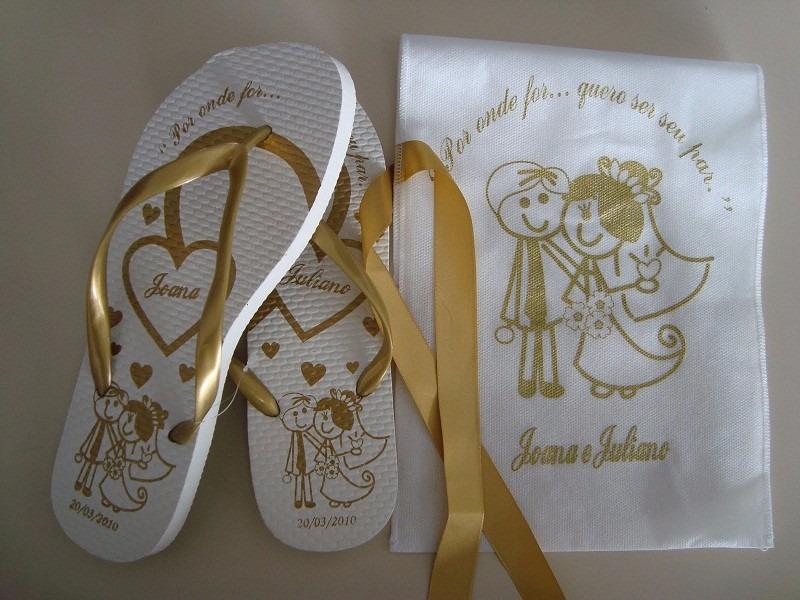 a4b47d8c2e 100 pares chinelos personalizados casamentos. Carregando zoom.