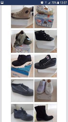 100 pares de calzado variado