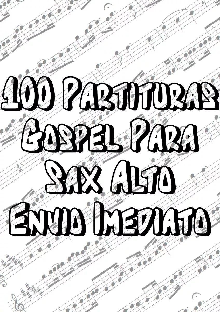 partituras sax alto gospel gratis