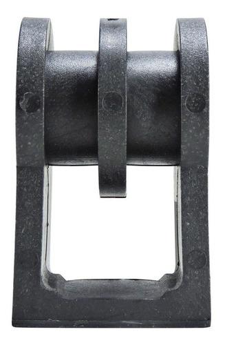 100 pçs roldana plástica 2 ranhuras com suporte injetado