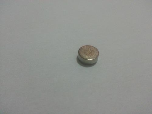 100 peças medida 5mm x 1,5mm  imã de neodímio super forte