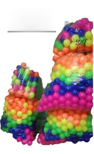 *100 pelotas para piscina de bolas gruesas y resistentes