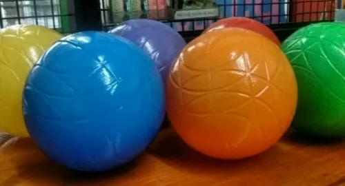 100 pelotas pelotero plástico virgen no se aplastan 110 mms