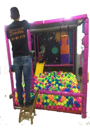 100 pelotas plasticas para piscina al x mayor