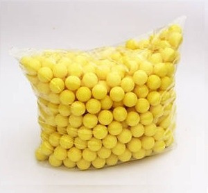 100 pelotas rehusables reballs marcadora .68  gotcha xtreme
