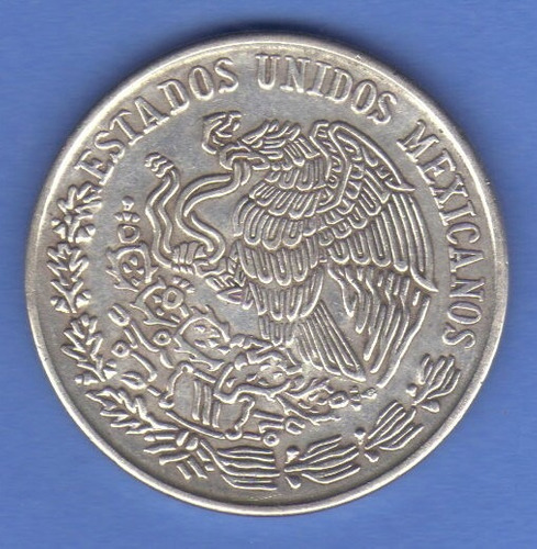 100 pesos 1978 plata méxico jose maria morelos y pavón - hm4