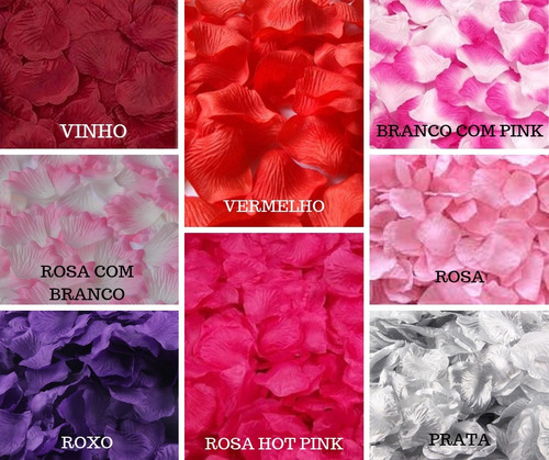 100 pétalas de rosa artificias decoração perfumada casamento