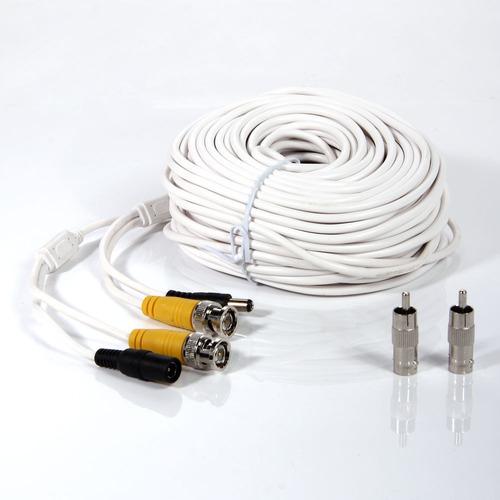 100 pies hogar cctv seguridad cámara cable rca de dvr vigila