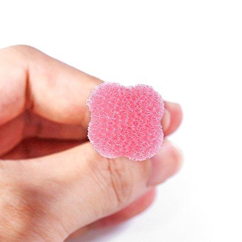 100 piezas de hisopos de esponja desechables para el cuidado