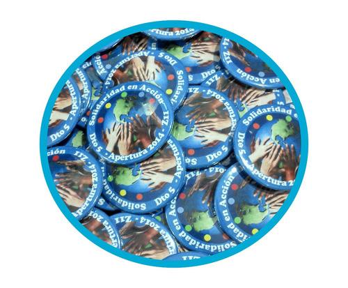 100 pines prendedores souvenirs diseños personalizado 32mm