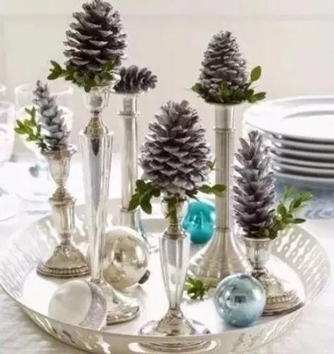 100 pinhas naturais in natura enfeite de natal artesanato oferta festa eventos pinha pinos pino decoração guirlanda