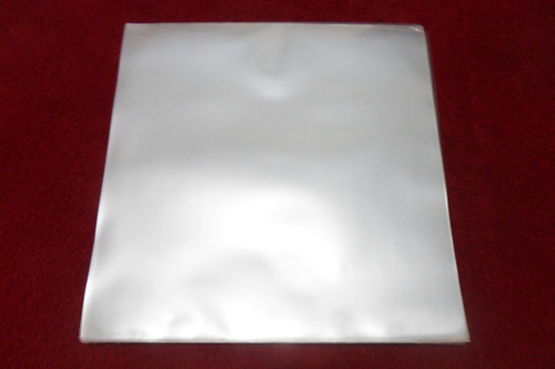 100 plásticos externos 0,20 grosso p/ capa de lp disco vinil