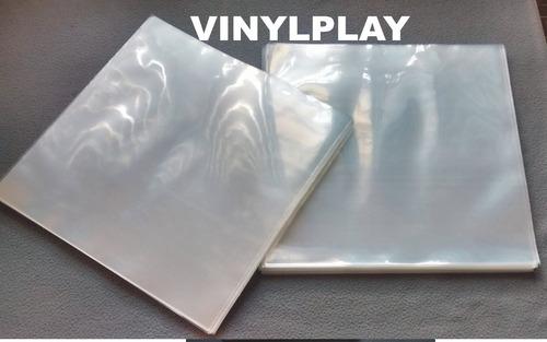 100 plasticos extra grosso p/ capas vinil disco  0,20 - raro
