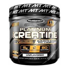 100% Platinum Creatine  - 400 Gr (80 Serv) - Muscletech