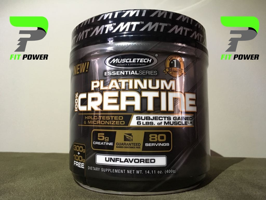 100 Platinum Creatine 400 Grs De Muscletech 80 Servicios Gram Cargando Zoom