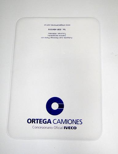 100 porta documentos automotor con su logo folia
