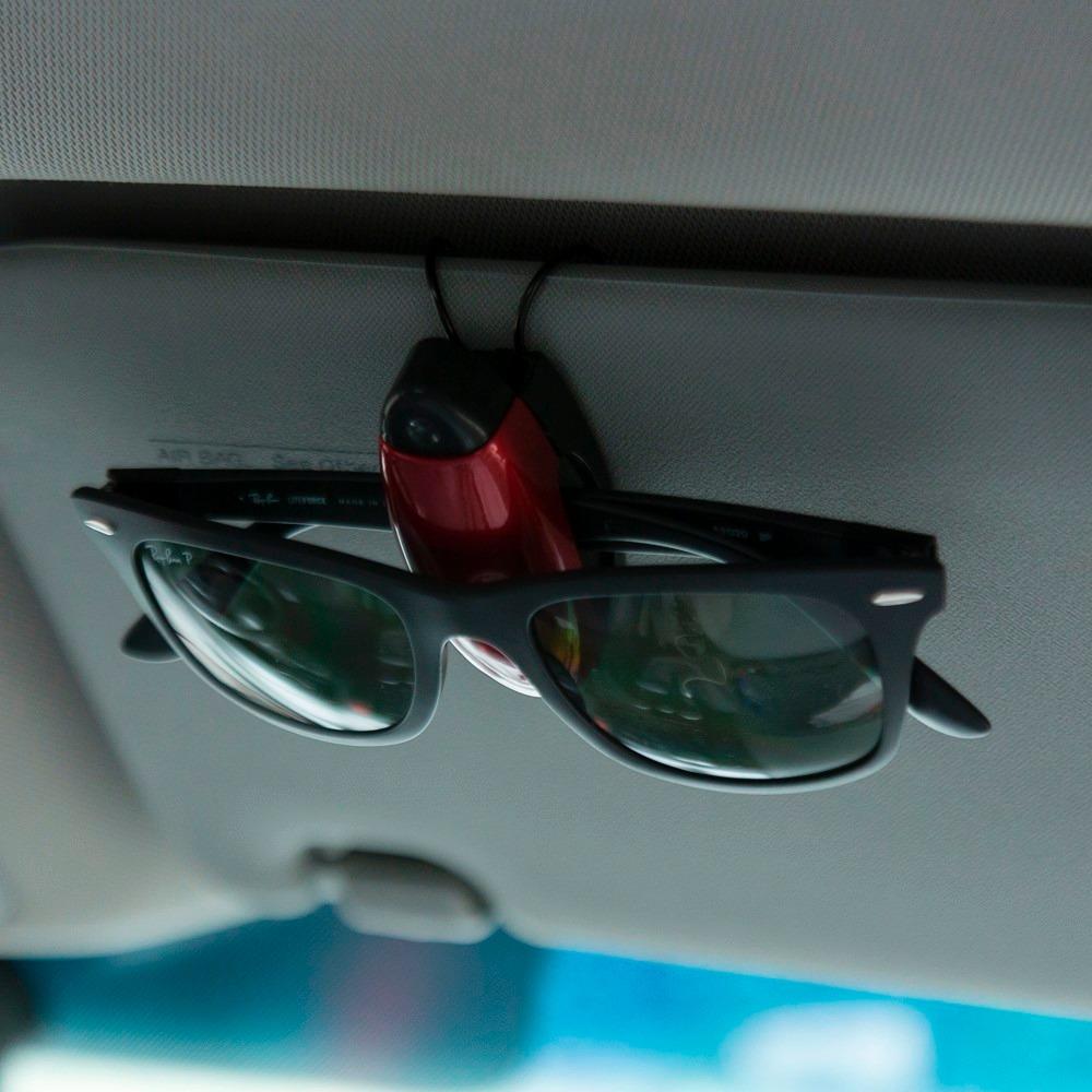9d0779aeefd0e 100 porta óculos veicular suporte para óculos quebra sol. Carregando zoom.