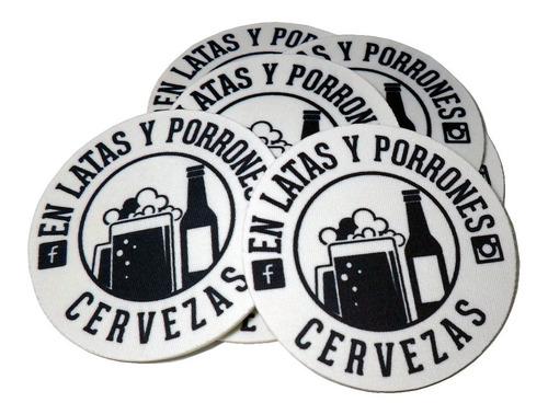 100 posavasos neoprene personalizados cervecerias