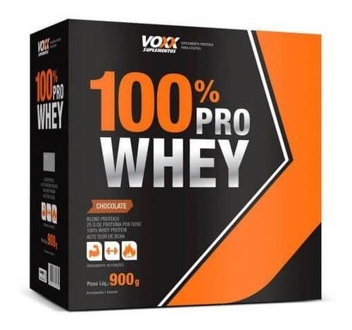 100% pro whey voxx suplementos 900g