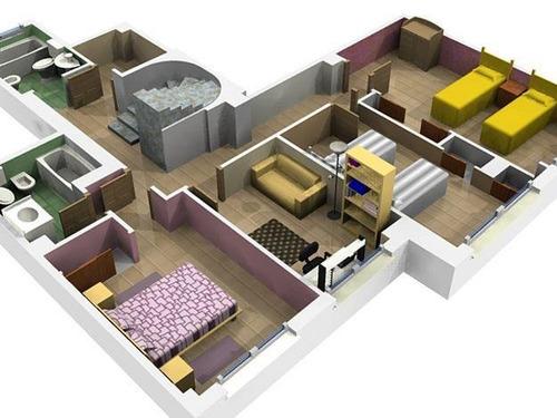 100 proyectos de casas deptos de 500 planos - Proyectos para construir una casa ...