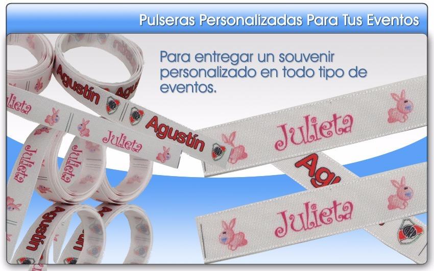 35438d4e0142 100 pulseras impresas personalizadas- 15 años - eventos. Cargando zoom.