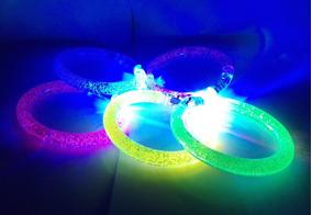 577bb8d56854 100 Pulseras Luminosas Led Fiesta Noche Batucada Disco