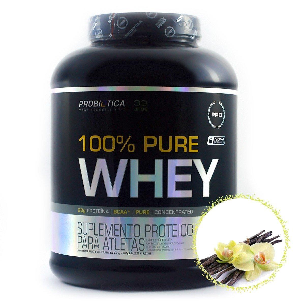 f65560a413534 100% pure whey - 2kg - probiótica - sabores promoção. Carregando zoom.