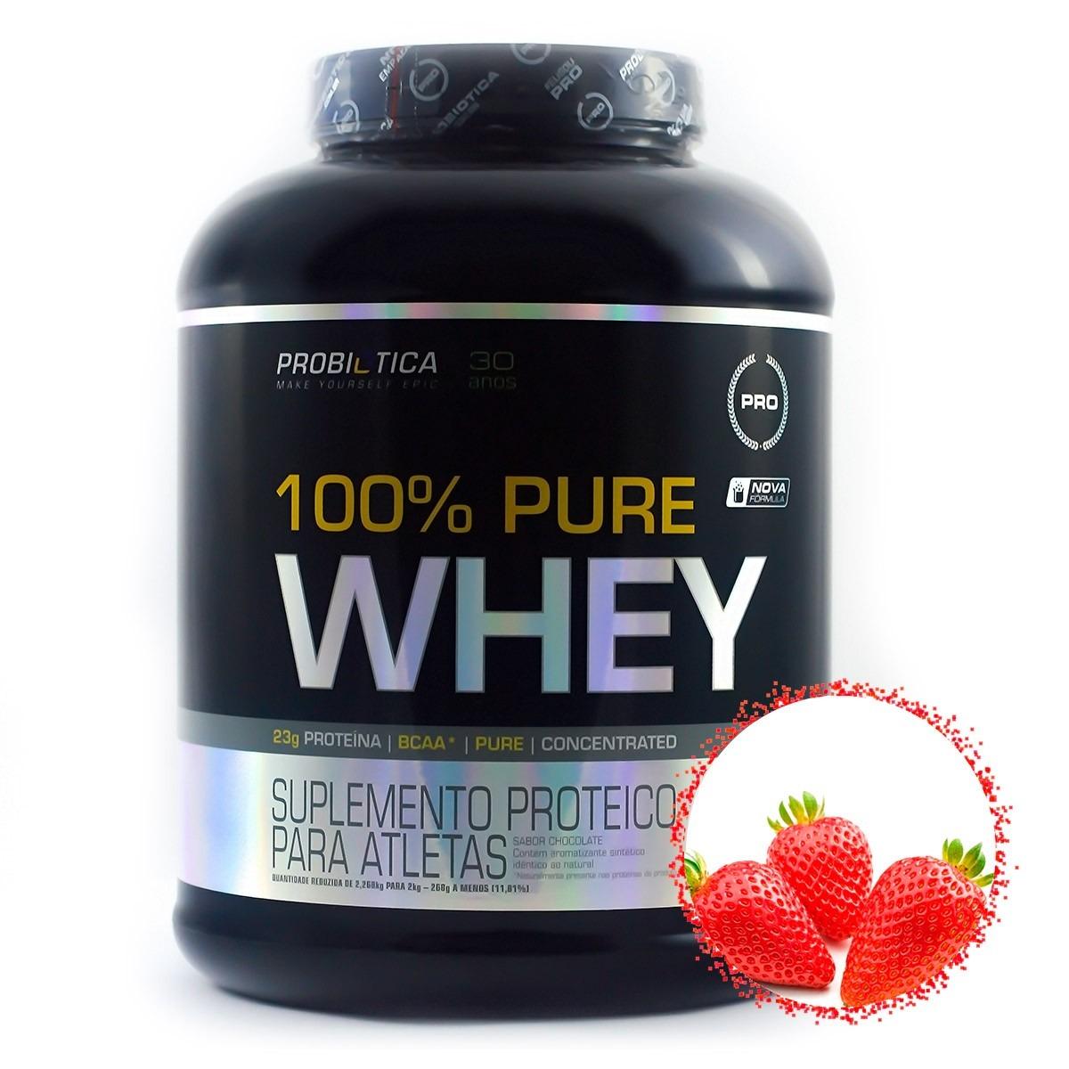 4d346e4a8 100% pure whey - 2kg - probiótica - sabores promoção. Carregando zoom.