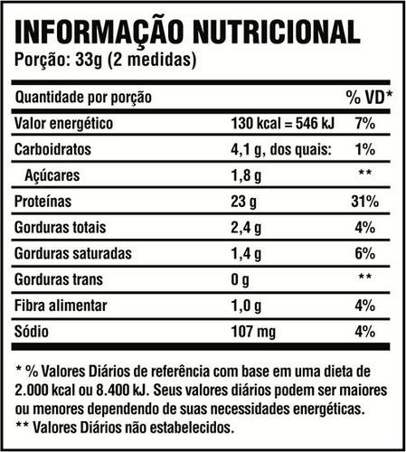100% pure whey protein 2kg concentrado massa muscular - probiótica - c/ nf