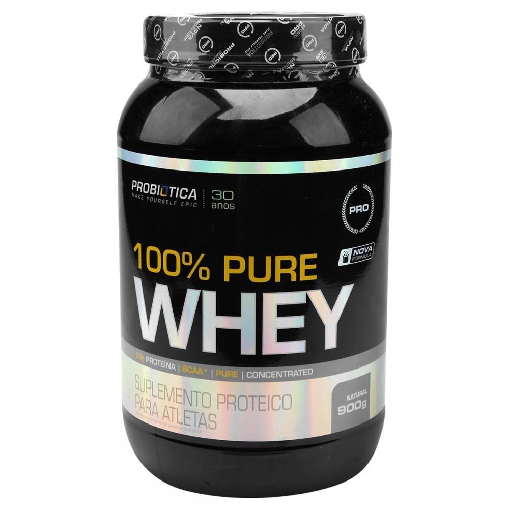 8171a8492f 100% Pure Whey Protein (900g) - Probiótica - R  99