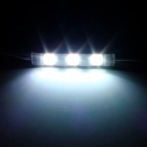 100 pza modulo abs 3 led 5730 blanco para anuncios luminoso