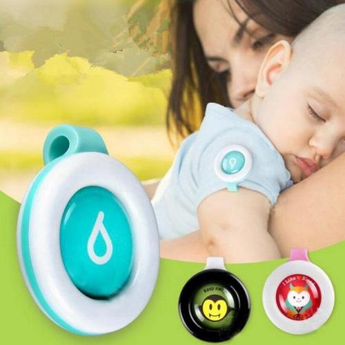 100 pzas boton anti mosquito repelente de moscos para niños