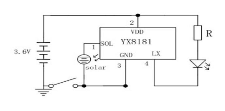 100 Pzas Circuito Yx8181 Para Hacer Lampara Solar Recargable