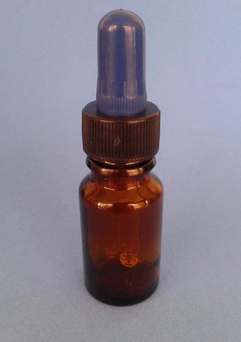 100 pzas. frasco gotero ambar con tapa pipeta de 5ml o 10ml