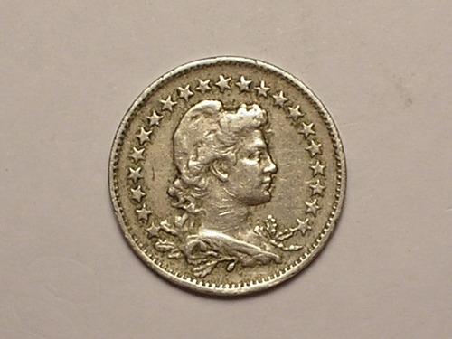 100 réis - 1922  ( moeda rara ) - peça chave