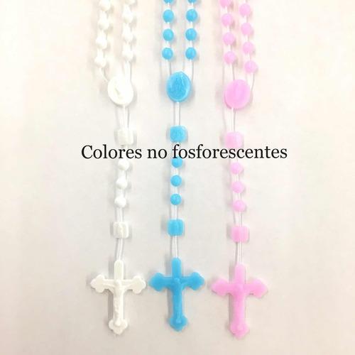 100 rosarios de plastico fosforecentes x $550