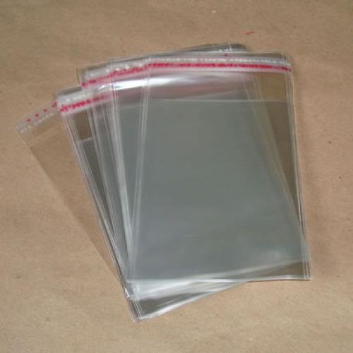 100 sacos para moedas 4x4 cm +2 cm d aba auto adesiva oferta