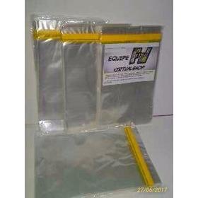 100 Sacos Polipropileno Adesivado 15x25cm Formatinho E Mangá