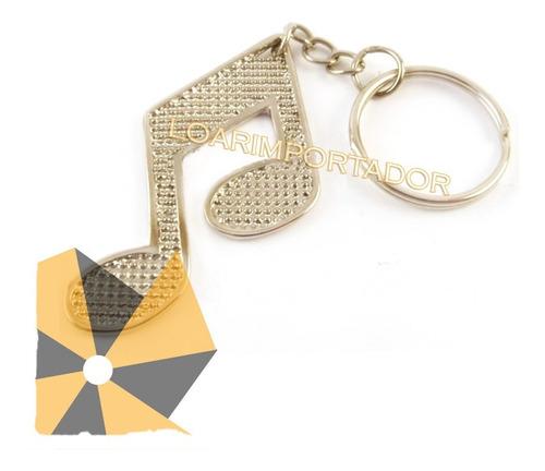 100 souvenir llaveros clave de sol dorado plateado bailarina