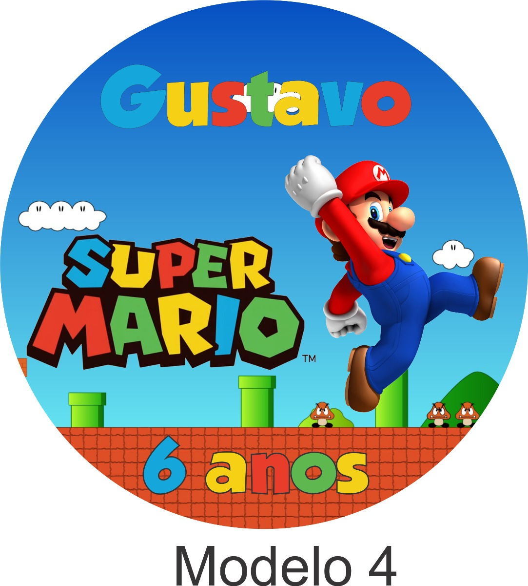 Adesivo Emagrecedor Funciona ~ 100 Tags Adesivo Mario Bros R$ 15,60 em Mercado Livre