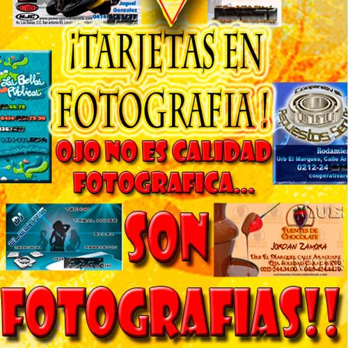 100 tarjetas de presentación en fotografia diseño y logo
