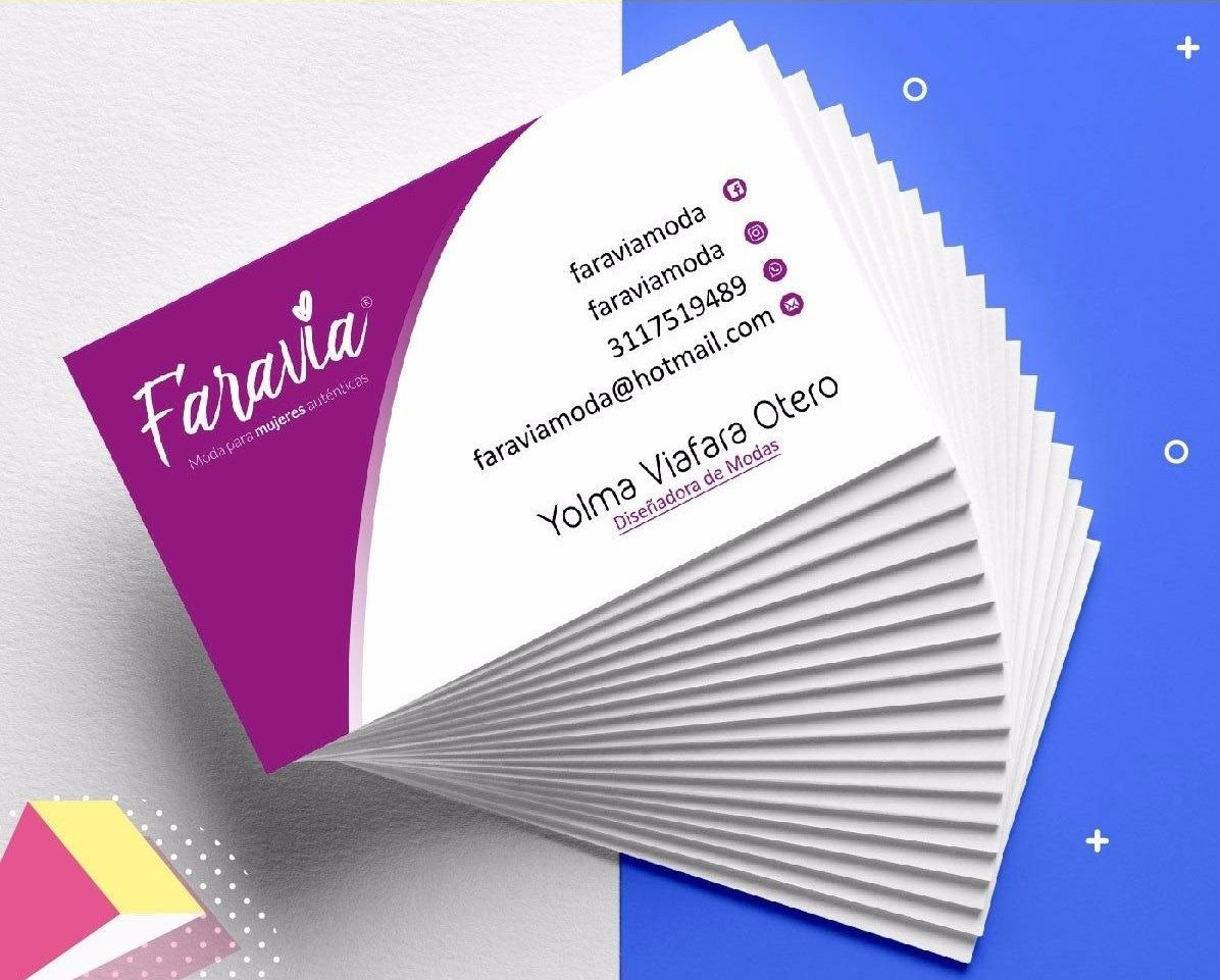 5a0dd19692ead 100 tarjetas de presentacion impresas a 1 cara glase. Cargando zoom.